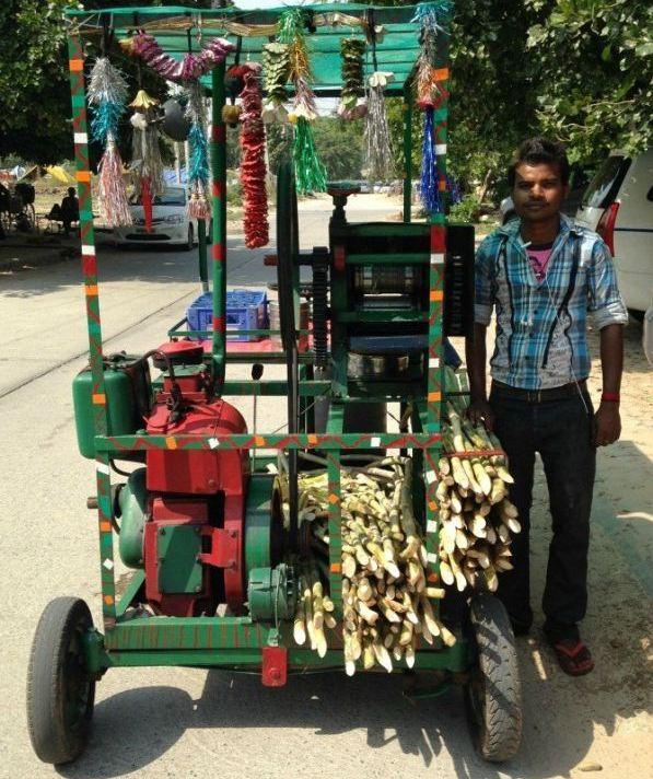 Sugarcane Extractor Car