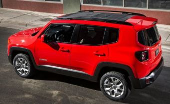 Jeep Renegade Compact SUV 1
