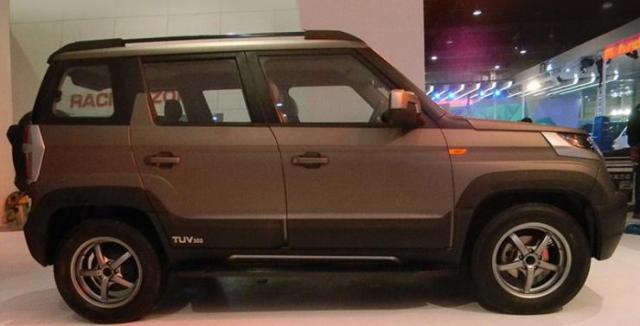 Mahindra TUV300 Endurance Edition 2