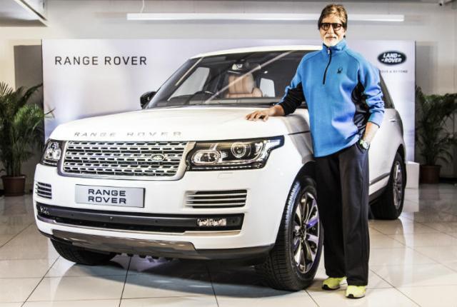 Amitabh Bachchan Range Rover