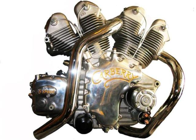 Paul Carberry's Custom Built 1000 cc V-Twin Engine
