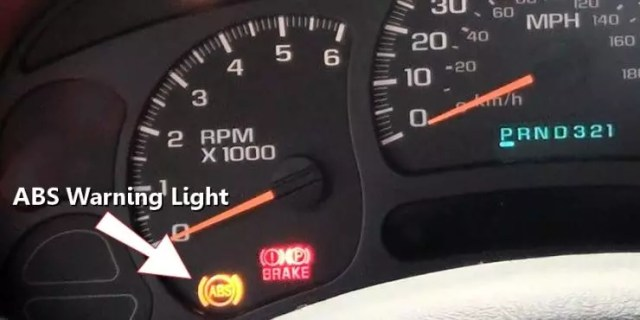 ABS Warning Lights