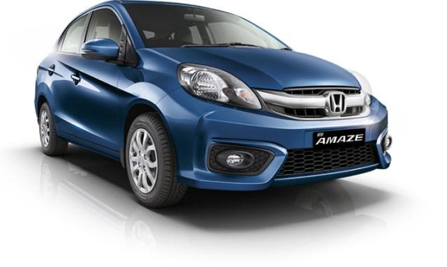 2016 Honda Amaze Facelift