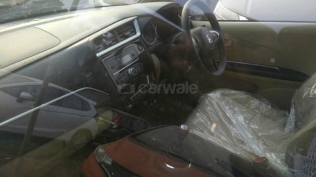 Honda Amaze Facelift Interior
