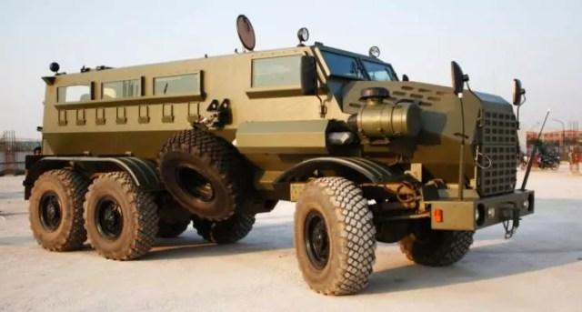Mahindra BAE Mine Protected Vehicle