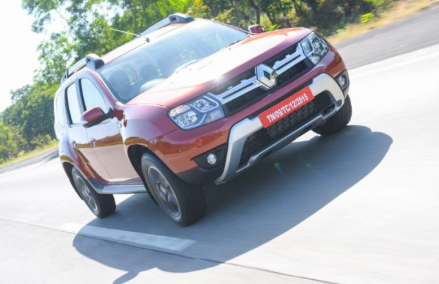 Renault Duster Facelift Front Three Quarter