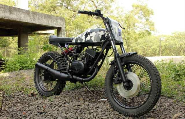 Yambam-Yamaha-RX100-Scrambler-Nomad-Motorcycles-Pune