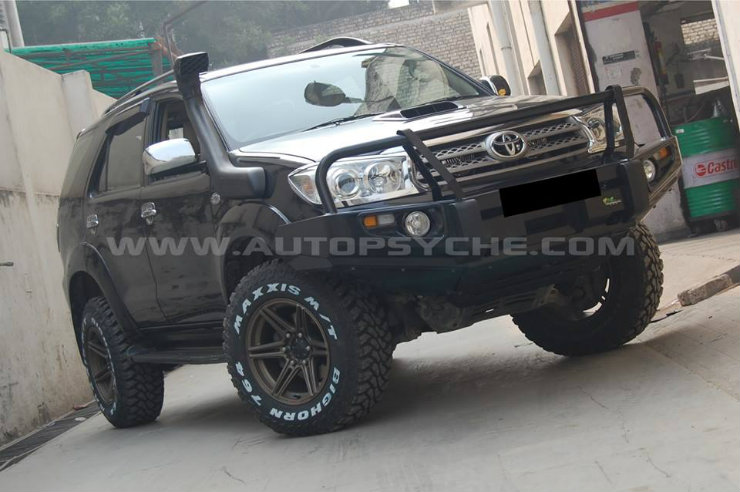 Ten Glorious Lifted SUVs Of India