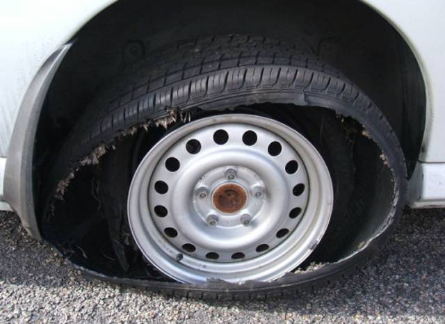 tyre-burst
