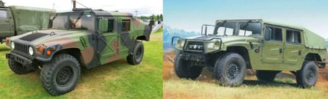 Dong-Feng-Motors-EQ2050-HMV-vs-AM-General-Humvee
