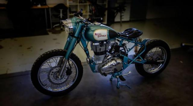 Royal Enfield Mo'Powa' Custom 1