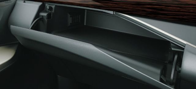 Cooled Glove Box_Cup holder