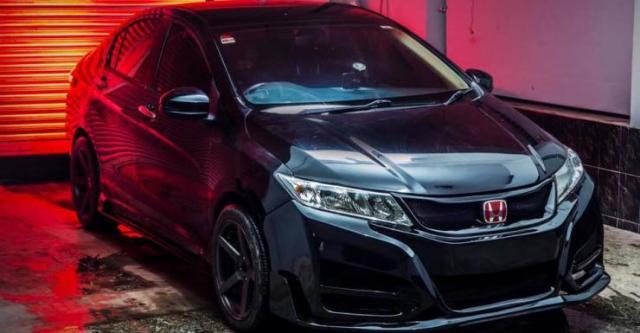 Honda City Custom 1