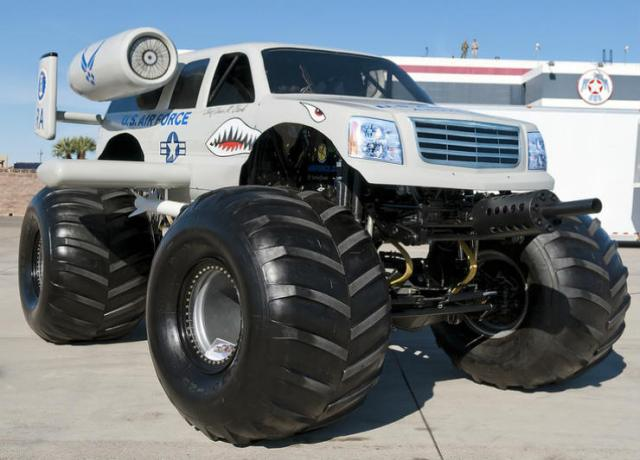 Larger tyres