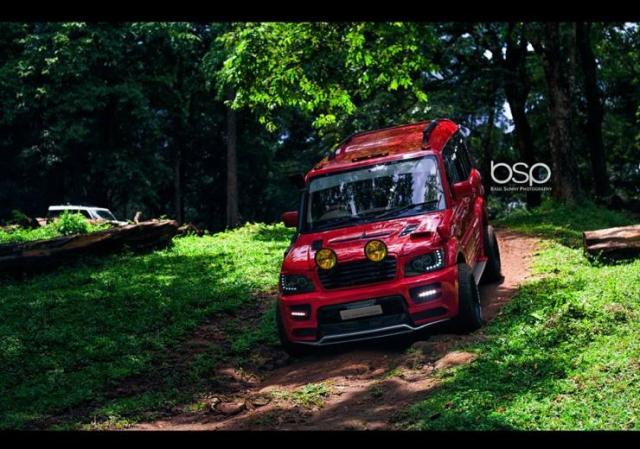 Mahindra Scorpio Modred 11