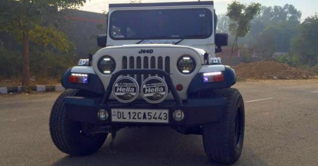 Mahindra Thar Custom Sameer Sharma 9