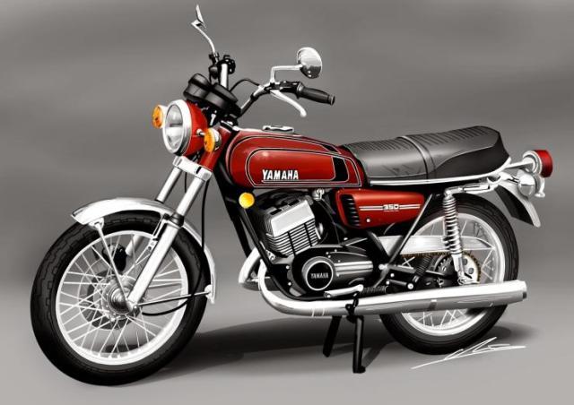 Yamaha RD350 1