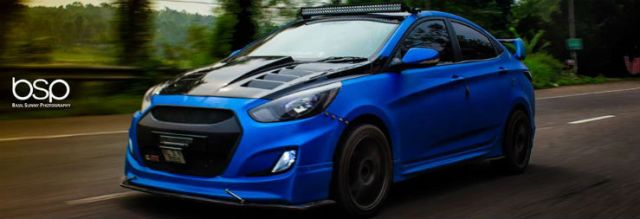 This Is The Best Looking Modified Hyundai Verna