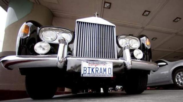 Bikram Choudhury Rolls Royce