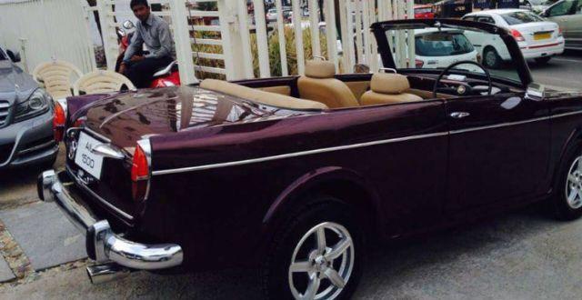 Regular Indian Cars Modified Into Beautiful Convertibles