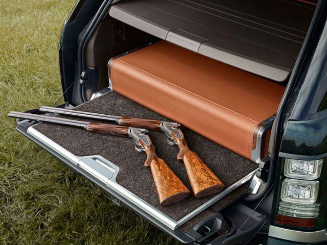 Range Rover luggage