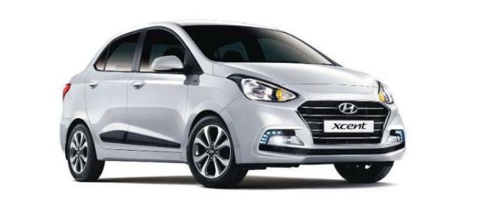 Hyundai Xcent Facelift 1