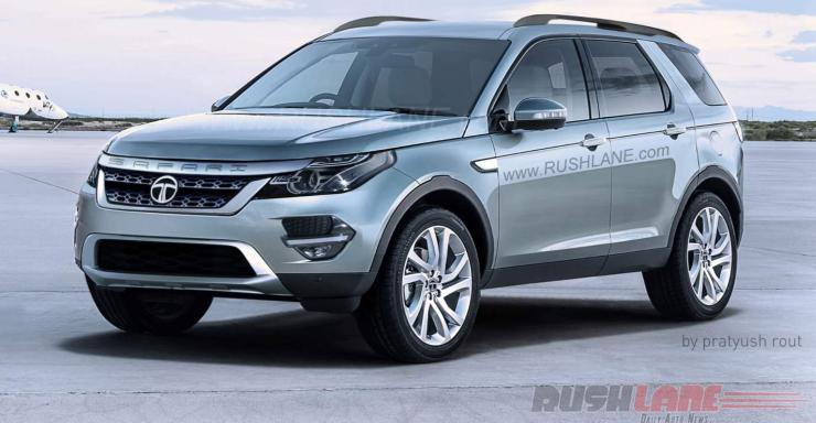 land rover discovery safari. an indianized land rover discovery sport tata safari storme render