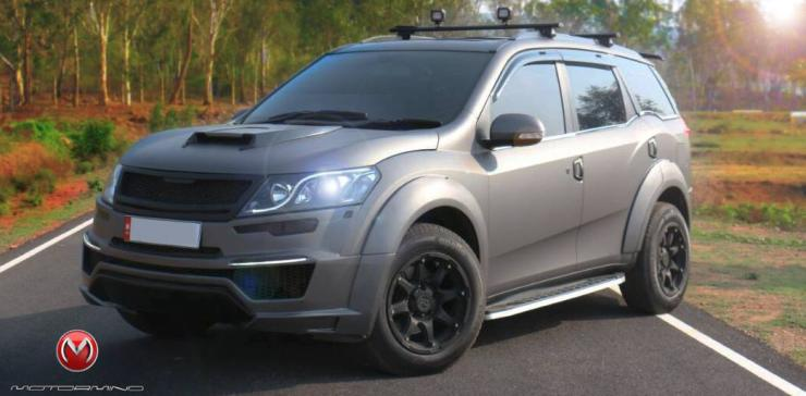 Madmen radical bodykit for mahindra xuv500 for Xuv 500 exterior modified