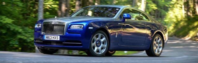 Rolls Royce corner