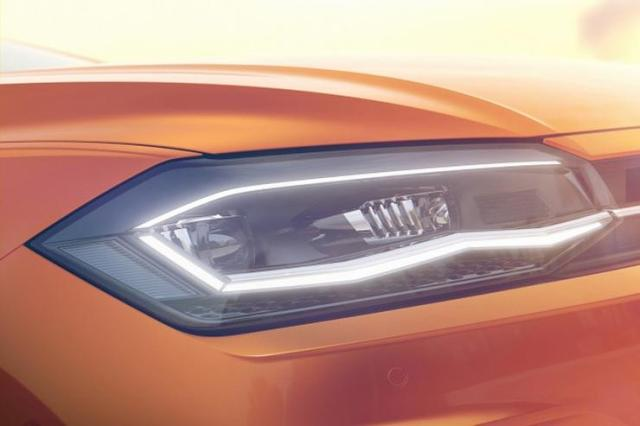 2018 MQB Volkswagen Polo Teaser 1
