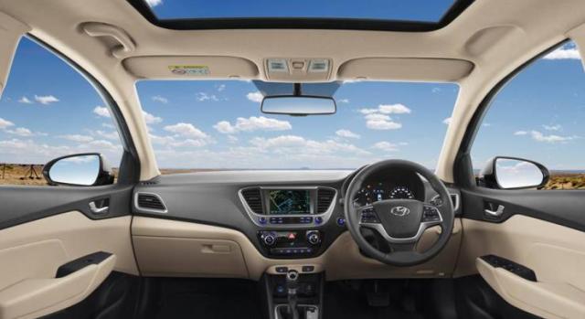2017 Hyundai Verna Dashboard