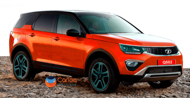 Tata Q502 7-Seat Luxury SUV Render