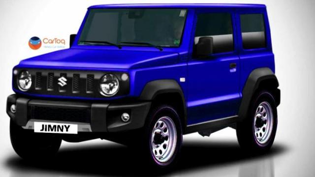 2018 Suzuki Jimny in Blue
