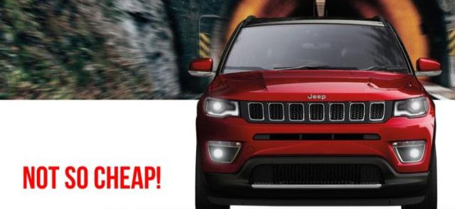 Jeep Compass Price Hike
