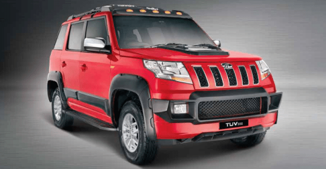 Mahindra TUV300 Armour Featured