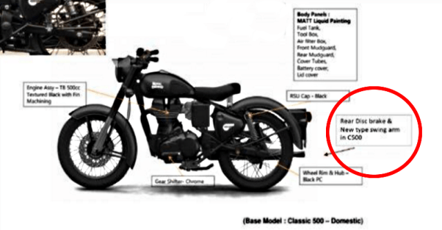Royal Enfield Classic 500 Stealth Black Featured