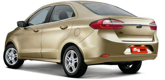 Ford Figo Aspire Facelift Render