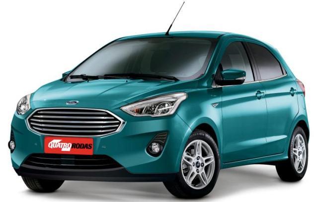 Ford Figo Facelift Render 1