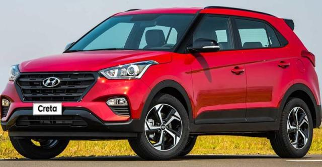 upcoming cars - hyundai creta facelift