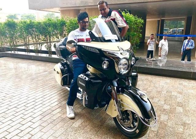 Madhavan with the Indian Roadmaster