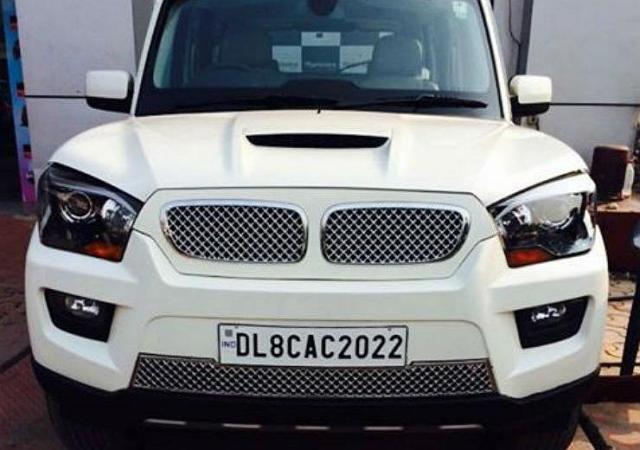 Mahindra Scorpio BMW