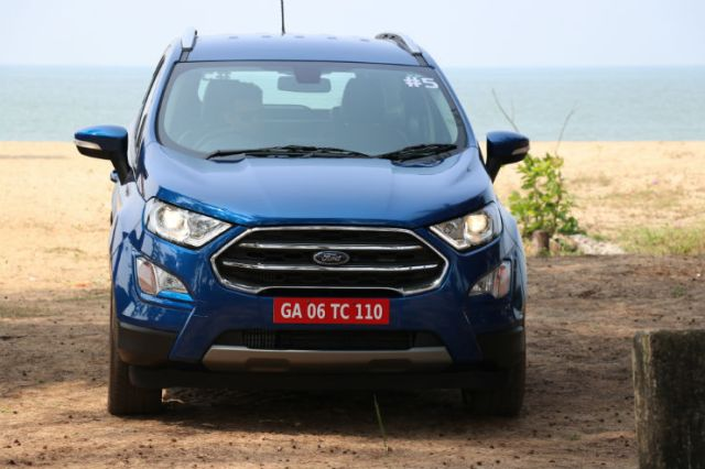 sexy cars of 2017 - ford ecosport facelift