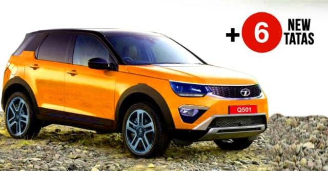 7 New Luxury Cars Coming Out For 2016: 7 New Tata Cars & SUVs Coming To The 2018 Indian Auto Expo