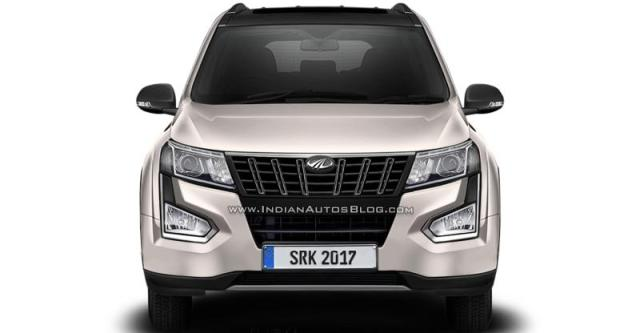 2018 Mahindra Xuv500 Facelift Here S What It Ll Look Like