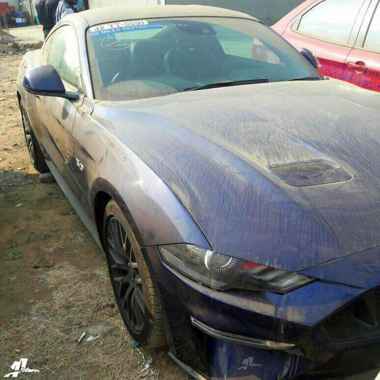 2018 Ford Mustang facelift muscle car spied in India; Launch soon