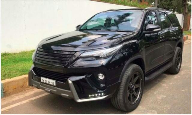 Hot Modified New Toyota Fortuner Suvs From Around India