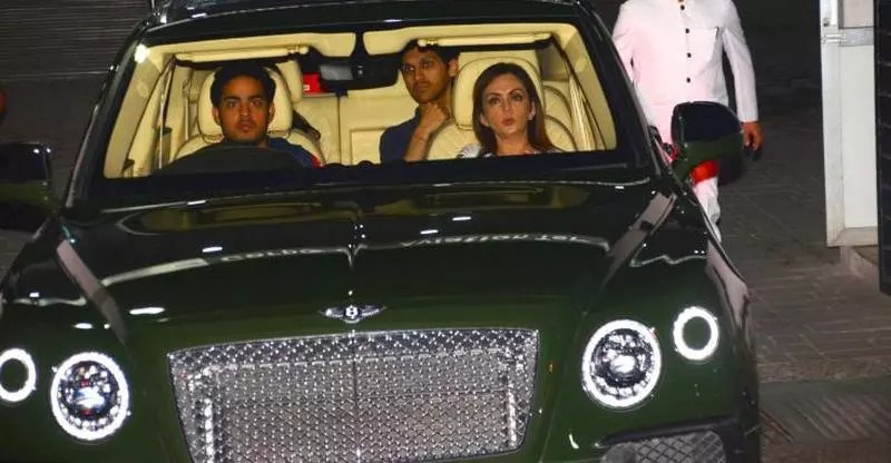 The Ultra Rich Ambani Kids Amp Their Super Luxurious Cars