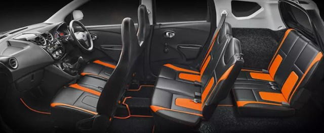 Datsun Go Plus Remix Interiors
