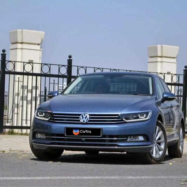 new volkswagen passat test drive review images