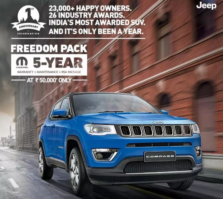 Jeep Extended Warranty >> Jeep Compass Suv Gets A Very Attractive Extended Warranty